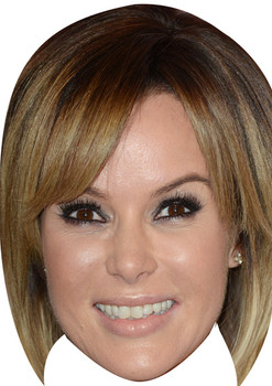 Amanda Holden Tv Stars 2018 Celebrity Face Mask
