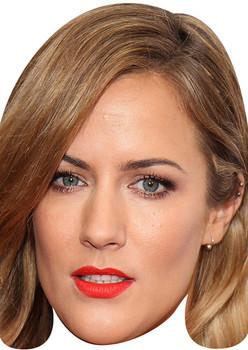 Caroline Flack Tv Stars 2018 Celebrity Face Mask