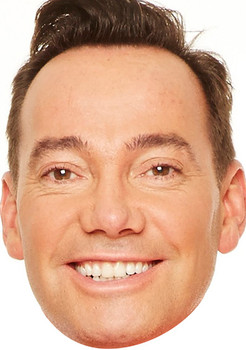 Craig Revel Horwood Tv Stars 2018 Celebrity Face Mask