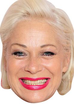 Denise Welch Tv Stars 2018 Celebrity Face Mask