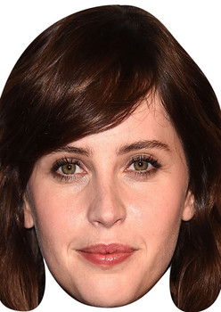 Felicity Jones Tv Stars 2018 Celebrity Face Mask