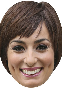 Flavia Cacace Tv Stars 2018 Celebrity Face Mask