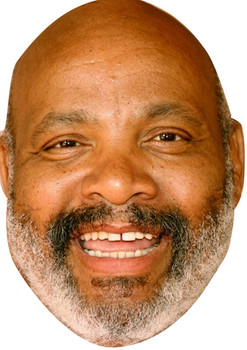 Uncle Phil James Avery Tv Stars 2018 Celebrity Face Mask