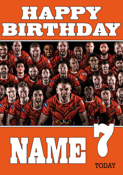 Castleford Tigers Birthday Card