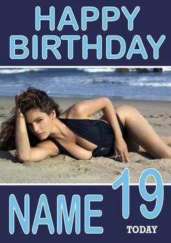 Personalised KE Designlly Brooke Birthday Card