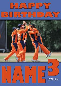 Ireland Cricket Team 2 Personalised Card