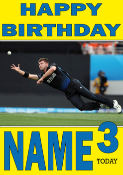 New Zealand Catch Personalised Card