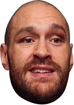 Tyson Fury Gypsie King Boxer Celebrity Face Mask