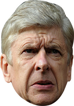 Arsne Wenger 2 Celebrity Face Mask