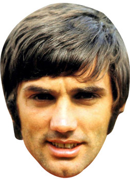 George Best Celebrity Face Mask
