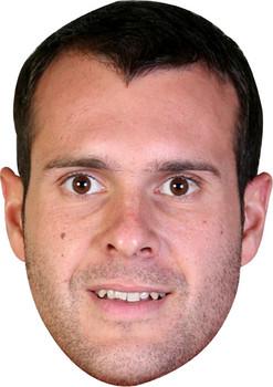 Jorquera Barcelona Footballer Celebrity Face Mask