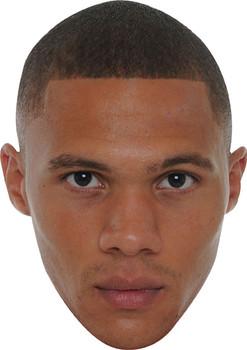 Kieran Gibbs Celebrity Face Mask