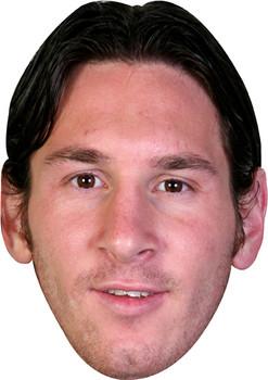 Messi Footballer Celebrity Face Mask