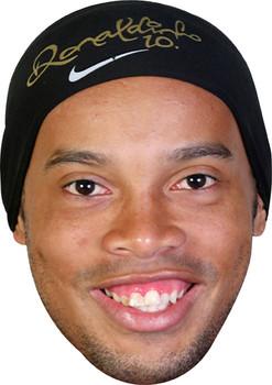Ronaldinho Footballer Celebrity Face Mask