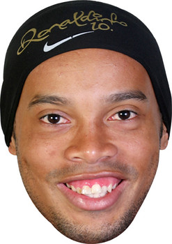Ronaldinho Footballer Celebrity Face Mask