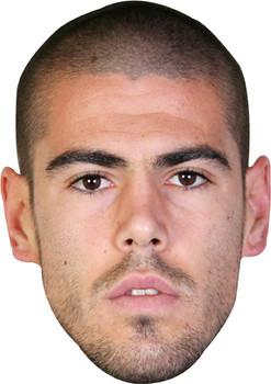 Valdes Footballer Celebrity Face Mask