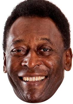 Pele Footballer 2018 Celebrity Face Mask