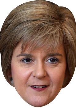 Nicola Sturgeon Politician Celebrity Face Mask