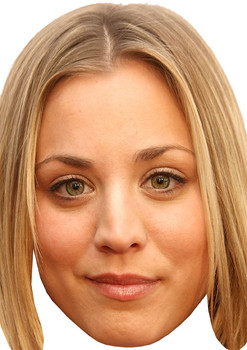 Kaley Cuoco Celebrity Face Mask