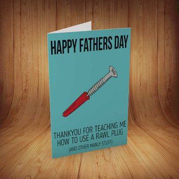 Happy Fathers Day Personalised Birthday Card