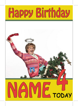 Mrs Browns Boys Tree Personalised Birthday Card
