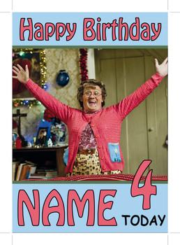 Mrs Browns Boys Personalised Birthday Card