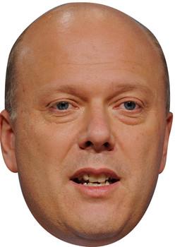 Chris Gayling Uk Politician Face Mask