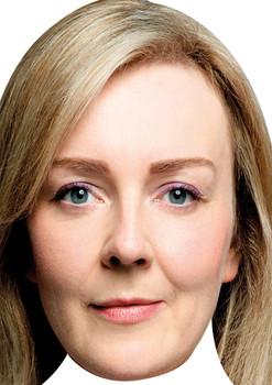 Elizabeth Truss Uk Politician Face Mask