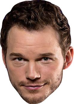 Chris Pratt Film Stars Movies Face Mask