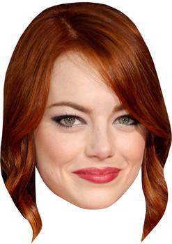 Emma Stone Tv Stars Face Mask