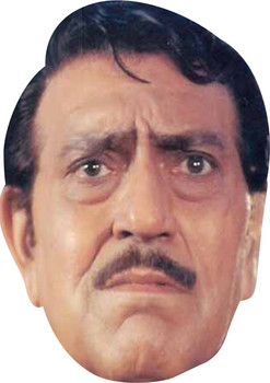 Amrish Puri Bollywood Face Mask
