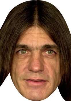 Malcolm Young Celebrity Face Mask