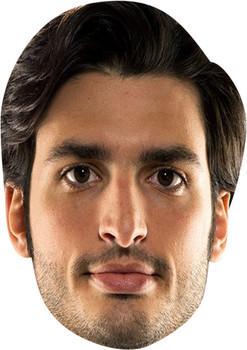 Carlos Sainz Celebrity Face Mask