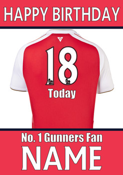 Arsenal Fan Happy Birthday Football