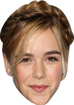 Kiernan Shipka Celebrity Facemask
