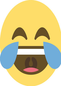 Laugh Cry Emoji Facemask