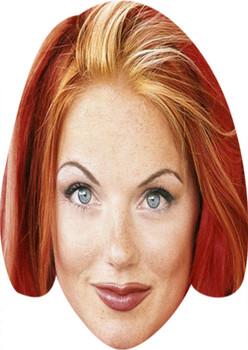 Spice Girl Geri Halliwell Celebrity Facemask