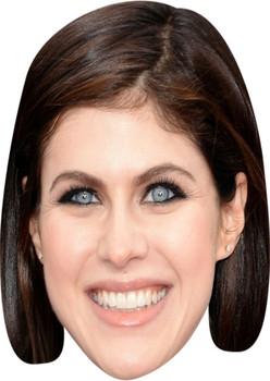 Alexandra Daddario Tv Stars Face Mask
