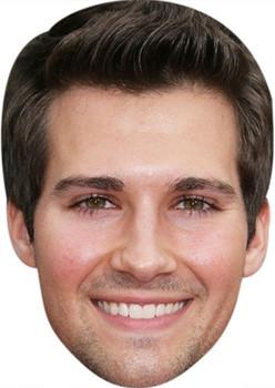 James Maslow Tv Stars Face Mask