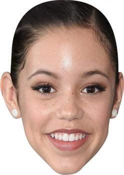 Jenna Ortega Tv Stars Face Mask