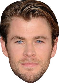 Chris Hemsworth Tv Stars Face Mask