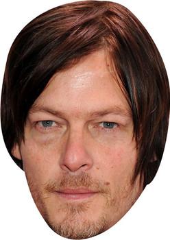 Norman Reedus Tv Stars Face Mask