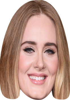 Adele Music Stars Face Mask