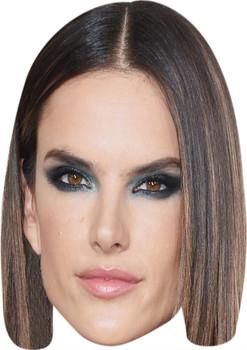Alessandra Ambrosio Music Stars Face Mask