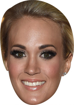 Carrie Underwood Music Stars Face Mask