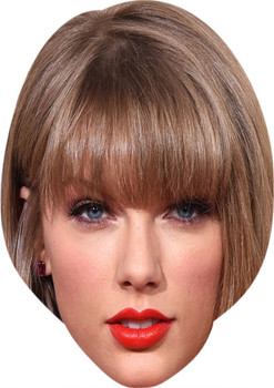 Taylor Swift Music Stars Face Mask