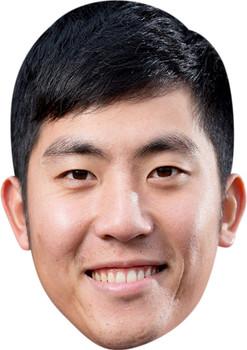 Cheng Tsung Pan Golf Stars Face Mask