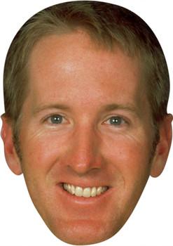 David Duval Golf Stars Face Mask