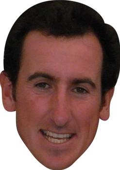 Gonzalo Fernandez Castano Golf Stars Face Mask