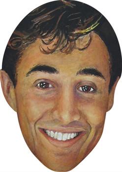Andrew Ridgely Celebrity Face Mask Party Mask